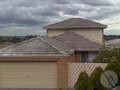 'Before' shot of a roof repair project in a Melbourne Suburb